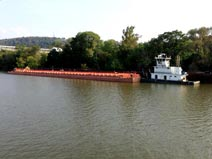 Ohio River Commercial Boat & Barge Services | AM&O Towing Inc